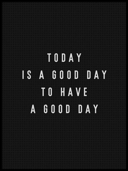 Poster: Good Day, av Grafiska huset