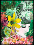 Poster: Green flowers, av Nancy Helena Berggren