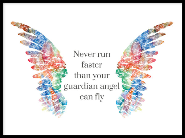 Poster: Guardian Angel, multi, av GaboDesign