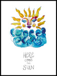 Poster: Here comes the sun, av Jessica Ahrling