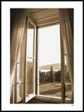 Poster: ITALY - Window in Tuscany, av A chapter 5 - Caro-lines