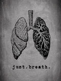 Poster: Just. Breath., av Anna Mendivil / Gypsysoul