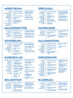 Poster: Konditorskolan, av The Wall Cookbook