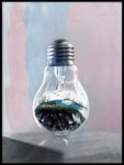Poster: Life in a bulb, av LO Art Design
