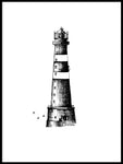 Poster: Lighthouse, av Sofie Staffans-Lytz