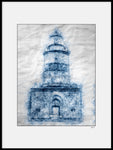 Poster: Lines II: Lighthouse Falsterbo, av A chapter 5 - Caro-lines