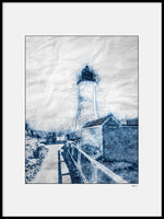 Poster: Lines II: Lighthouse New England, av A chapter 5 - Caro-lines