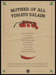 Poster: Mother of all Tomato Salads, av Owl Streets