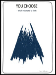 Poster: Mountain, av Sofie Staffans-Lytz