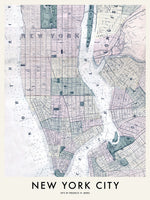 Poster: New York City 1873, av Utgångna produkter