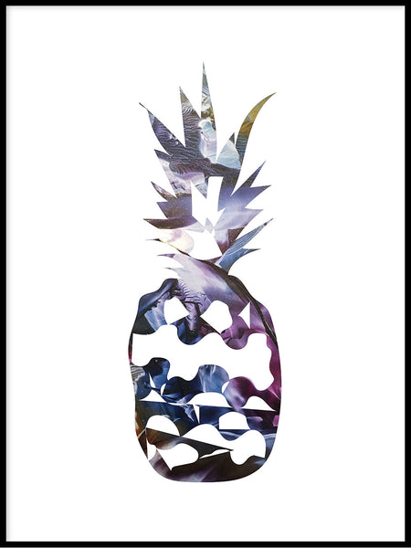 Poster: Pineapple, night, av LIWE