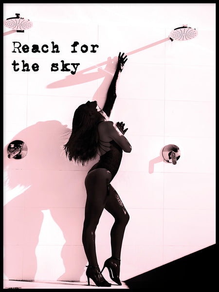 Poster: Reach for the sky, av Anna Mendivil / Gypsysoul