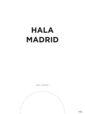 Poster: Real Madrid, av Tim Hansson