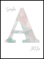 Poster: Smile a little, av ANNABOYE