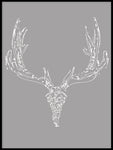 Poster: Swedish Elk, av By Lorentzon