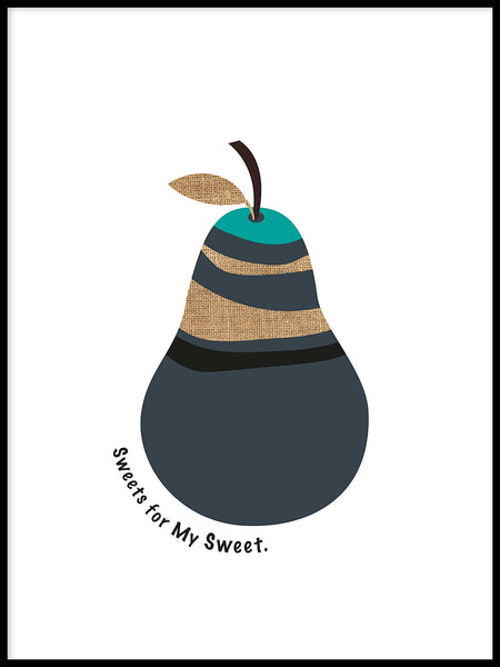 Poster: Sweets for my sweet, av Paperago