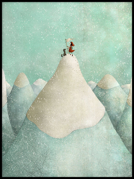 Poster: The Mountain, av Majali Design & Illustration