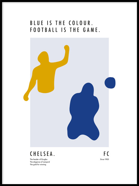 Poster: The Power of Chelsea, av Tim Hansson
