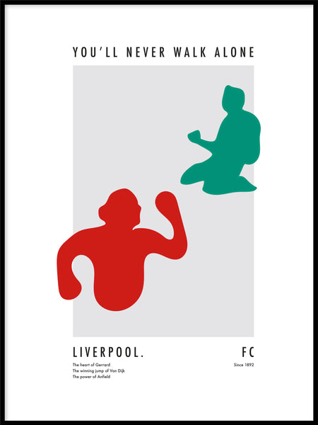 Poster: The Power of Liverpool, av Tim Hansson
