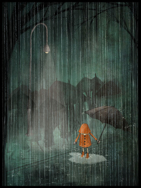 Poster: The Rain, av Majali Design & Illustration