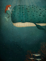 Poster: Under havet, av Majali Design & Illustration