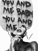 Poster: You and me baby, av Nancy Helena Berggren