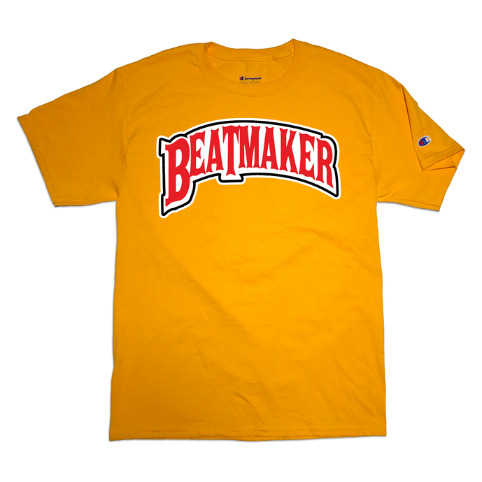 Beatmaker T-Shirt (Gold)