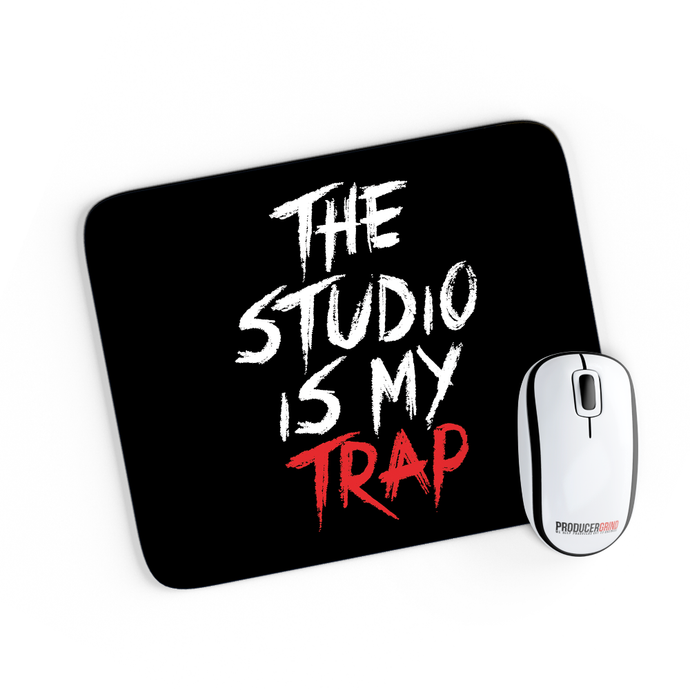 The Studio Is My Trap Mouse Pad