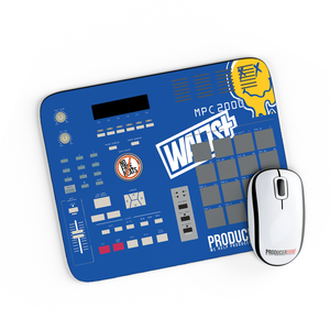 Blue MPC Mouse Pad