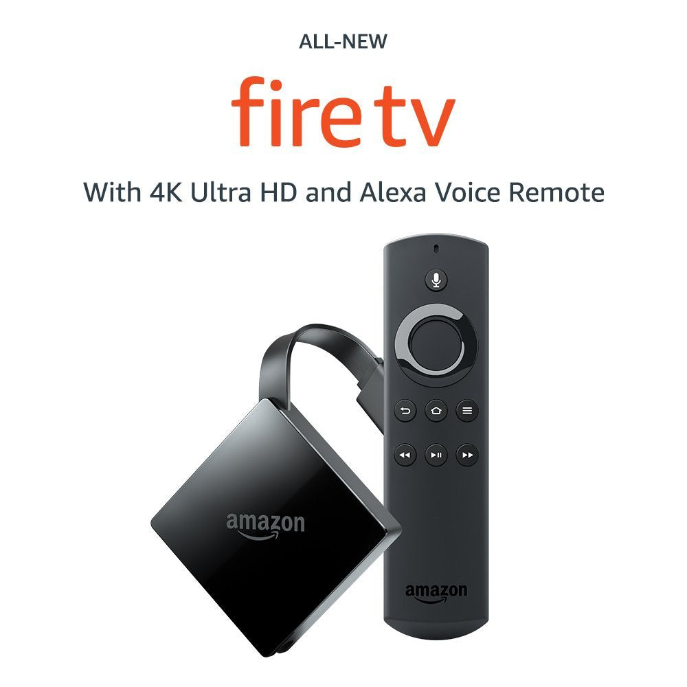 Amazon All-New Fire TV with 4K Ultra HD Media Player