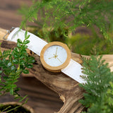 Montre en bois Snow White