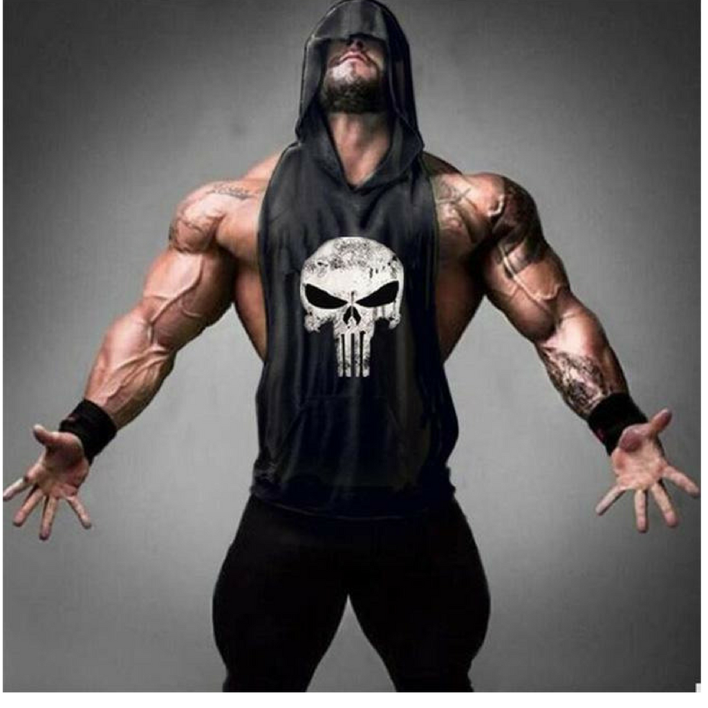 Punisher hoodie Tank Top