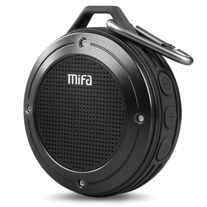 Shock Resistant Waterproof Bluetooth Speaker with Built-in Mic