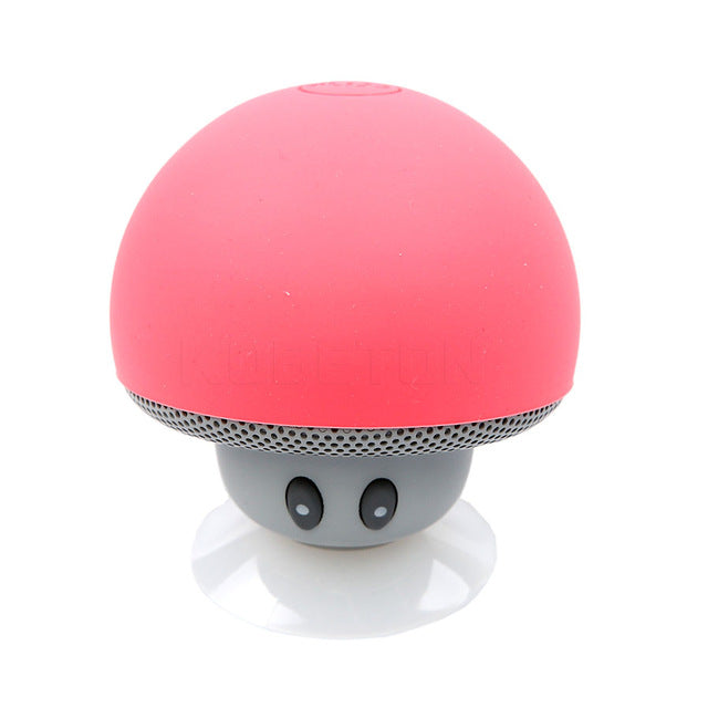 Mini Portable Waterproof Mushroom Bluetooth Speaker
