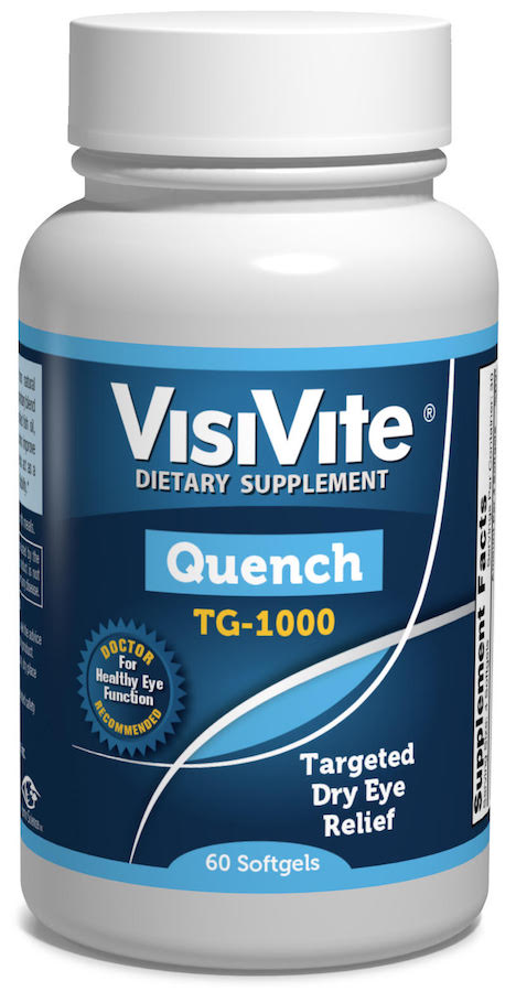 VisiVite Quench TG-1000 for Dry Eye - 2 per day - SHOP VISIVITE