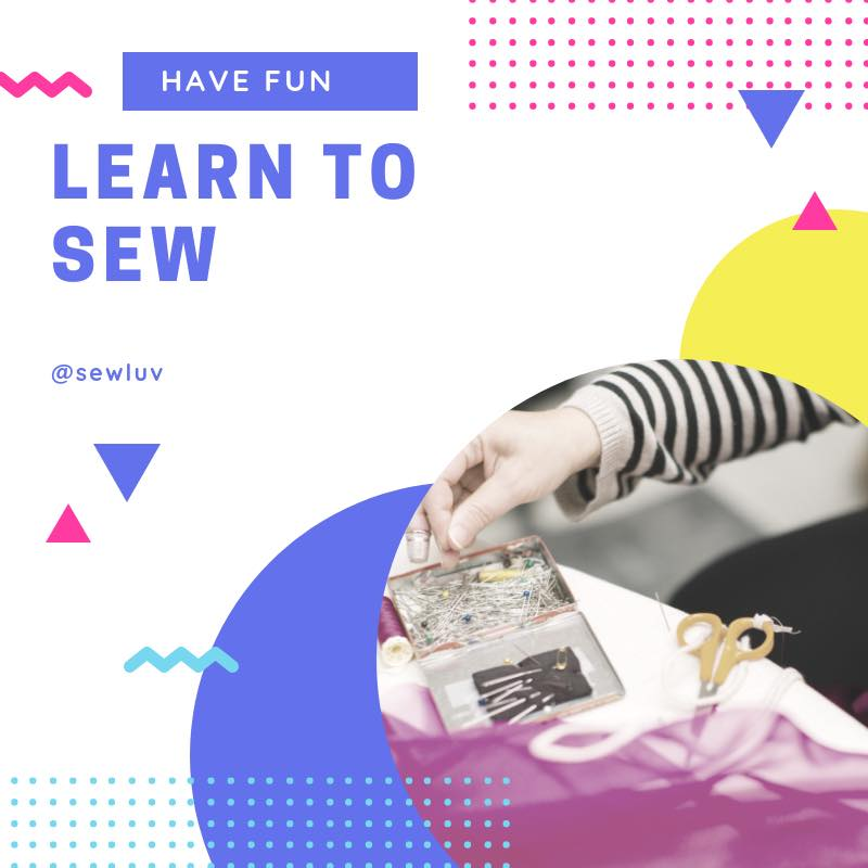Use sewing skills to earn money and for creativity