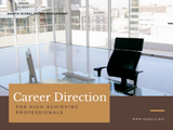 Career Direction for High Achieving Professionals