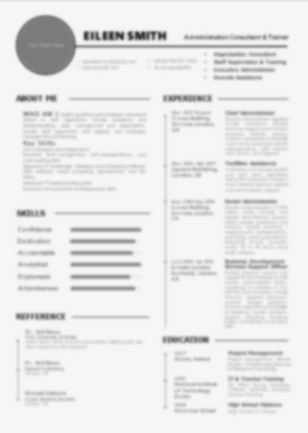 CV Design Change & Update for Past Clients
