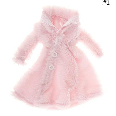 Plush Coat Doll Dress