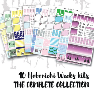 Hobonichi Weeks Collection Stickers