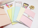 Pastel Rainbow Blank Notebooks - BrookeEvahPrints