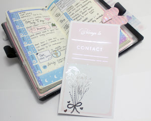 Hobonichi Weeks Full Page Belongs To Sticker- HB01 - BrookeEvahPrints