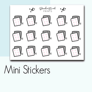 Mini $2 Tuesday Stickers-  BEPM102