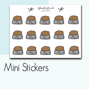 Mini Pet Food Stickers-  BEPM104