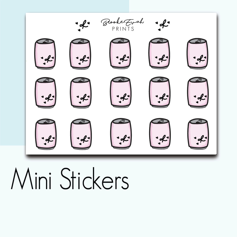 Mini Soda Stickers-  BEPM113