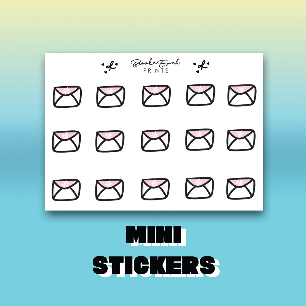Winter Mail Stickers - BEPM122