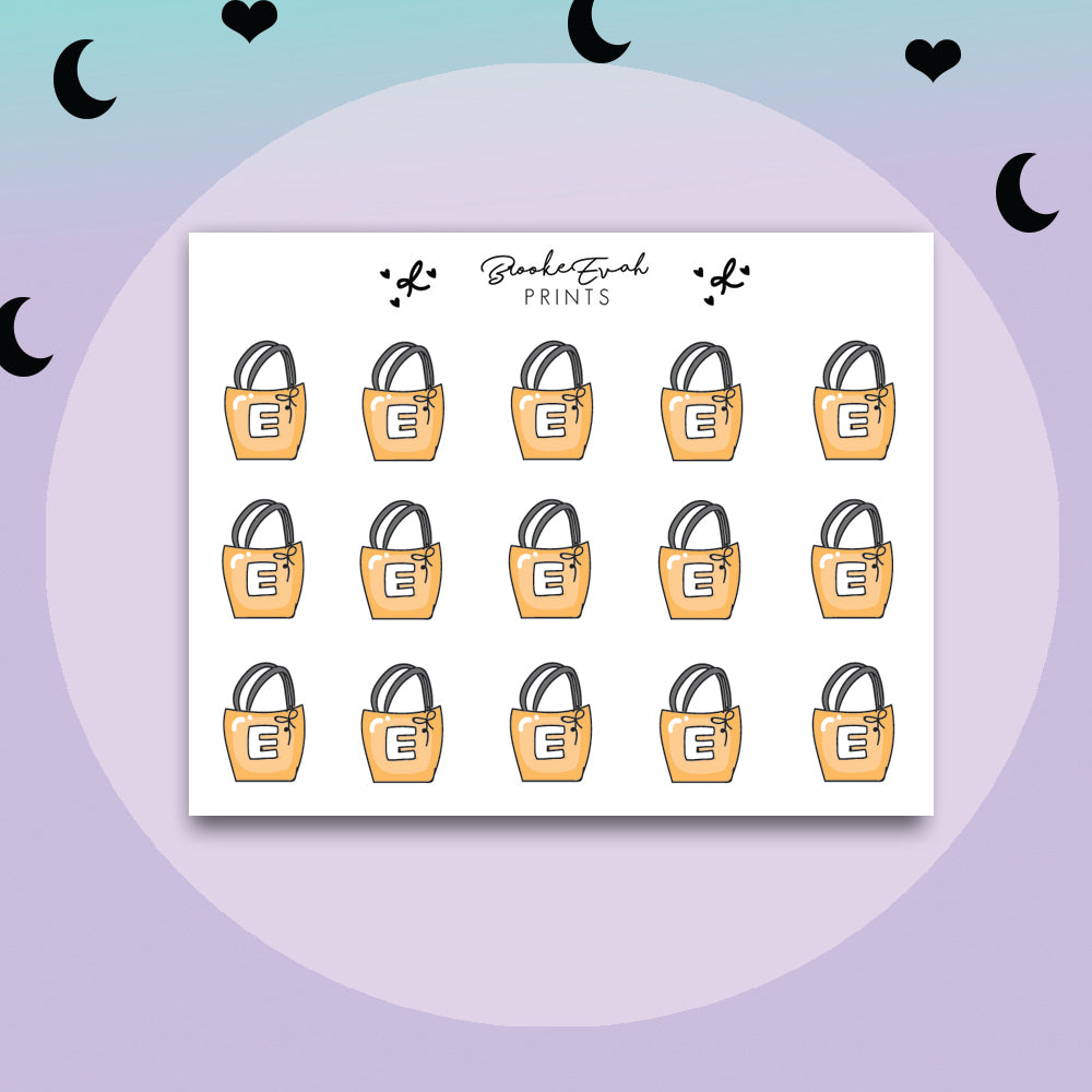 Mini Etsy Bags Stickers - BEPM130