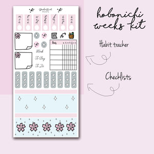 Hobonichi Weeks Kit- Cherry Blossom HK010 - BrookeEvahPrints