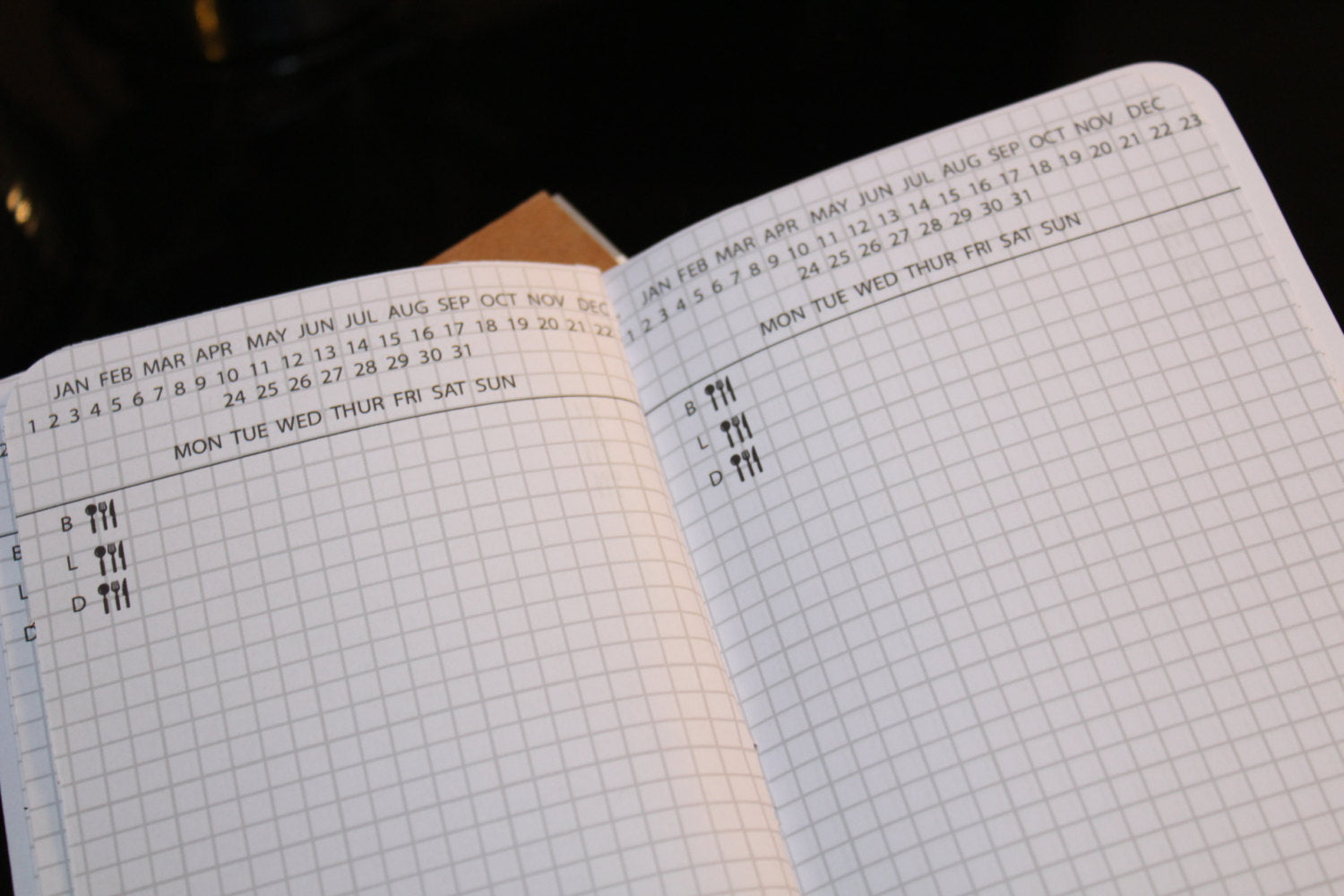 Hobonichi Style Daily Planner - BrookeEvahPrints