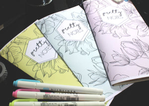 Pretty Notes Planner - BrookeEvahPrints